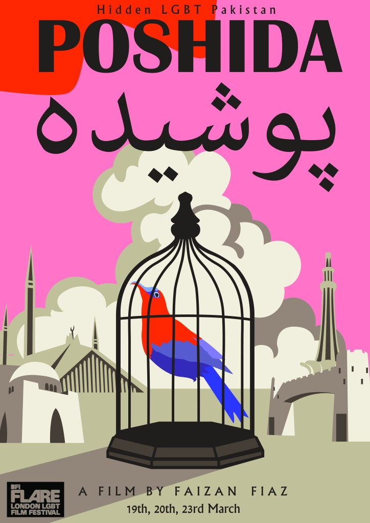 Poshida puts the lives of Pakistan's LGBTQ+ community in the celluloid spotlight.